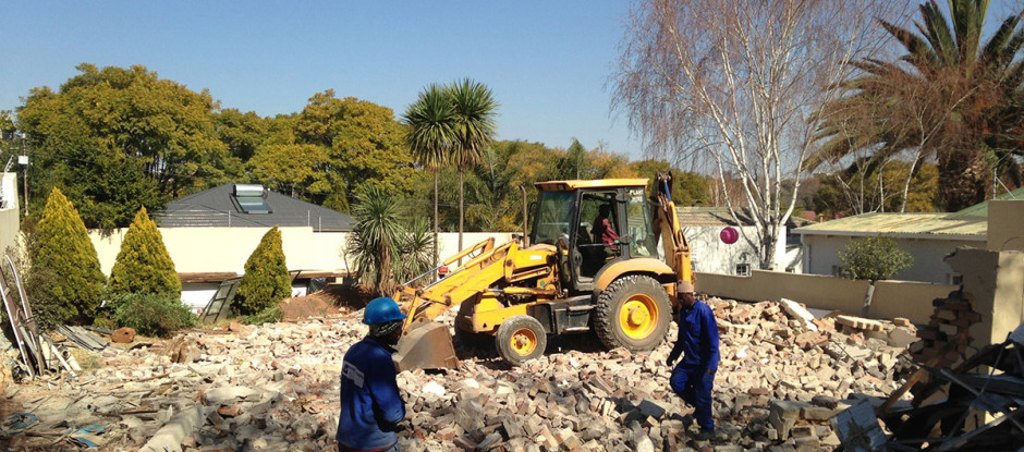 Completed Demolition Project: 5th Street, Parkhurst